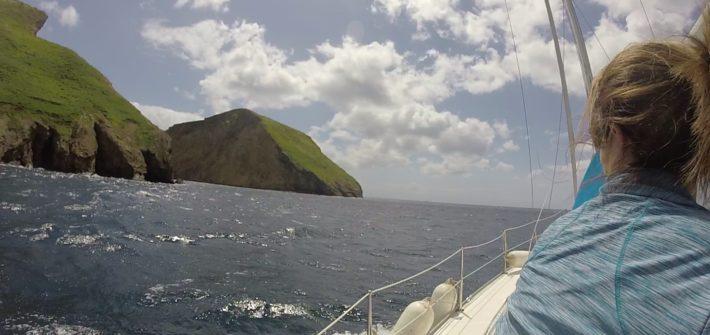Sailing terceira island azores