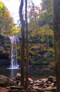 Cherokee Falls Waterfall, Cloudland Canyon State Park