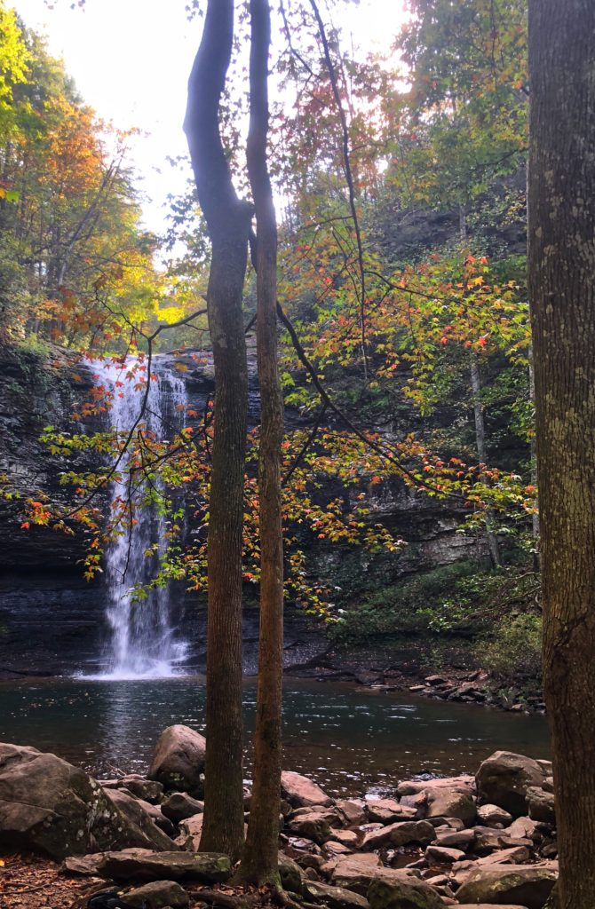 Cherokee Falls Waterfall, Cloudland Canyon State Park