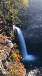 Despot Falls Waterfall, De Soto State park, Fort Payne Alabama