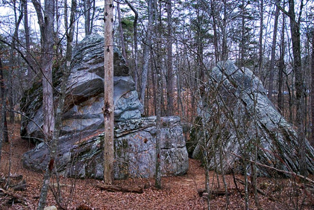 Rock Formation DeSoto State Park