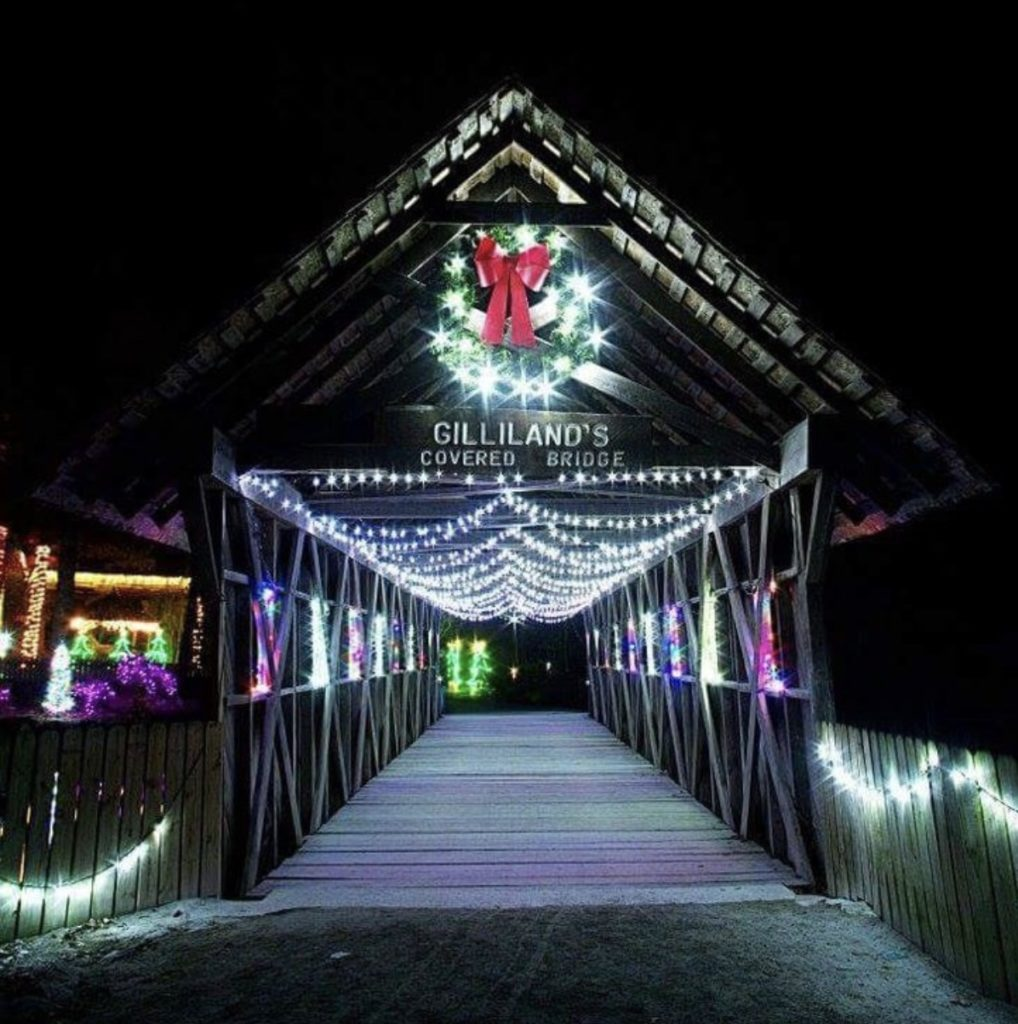 holiday lights, Noccalula Falls, Gadsden AL