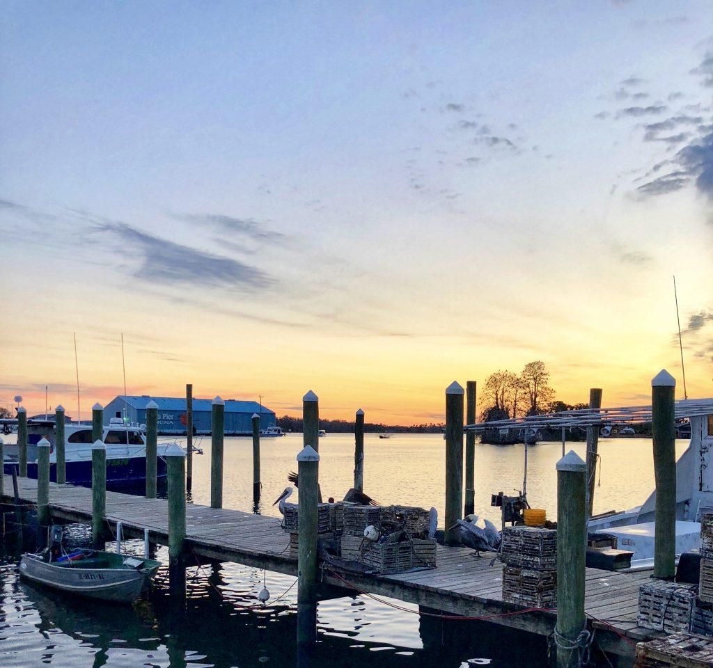 Sunset Crystal River Florida