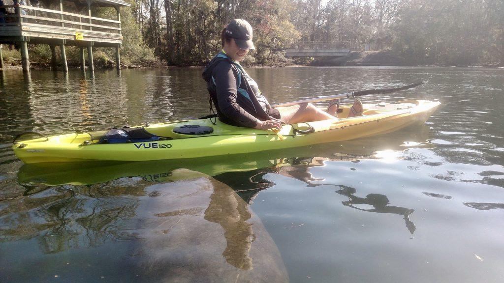 Kayaking Crystal River Florida