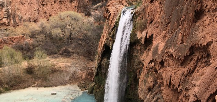 Havasu Falls in Havasupai, Arizona