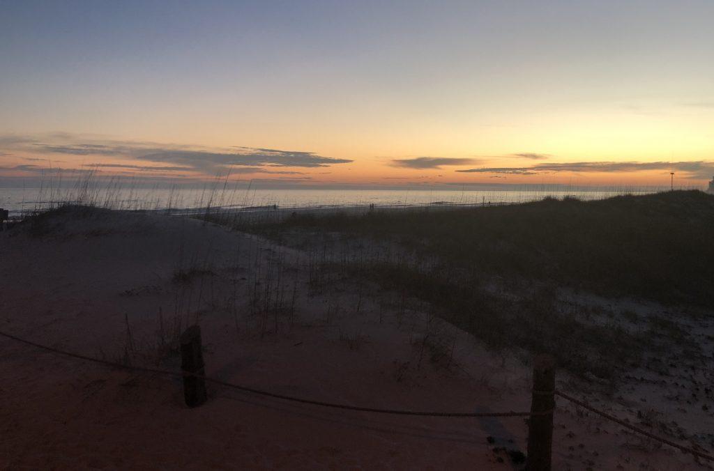 Sunset, Gulf State Park