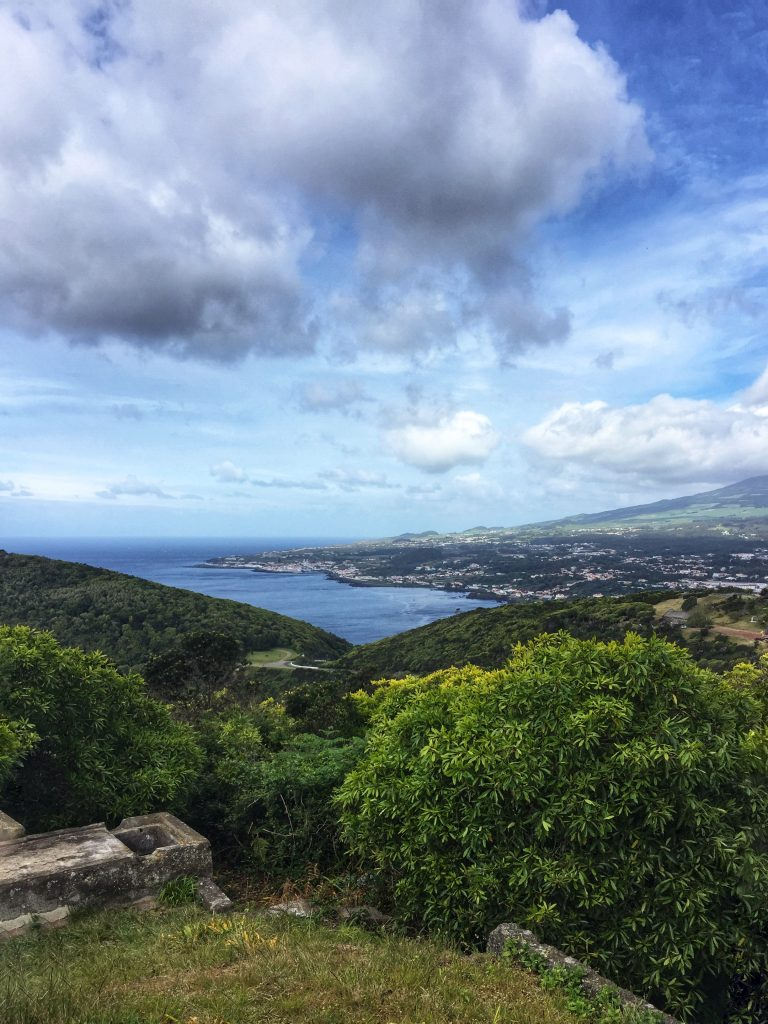 View from Mount Brasil, Terceira Island, Azores